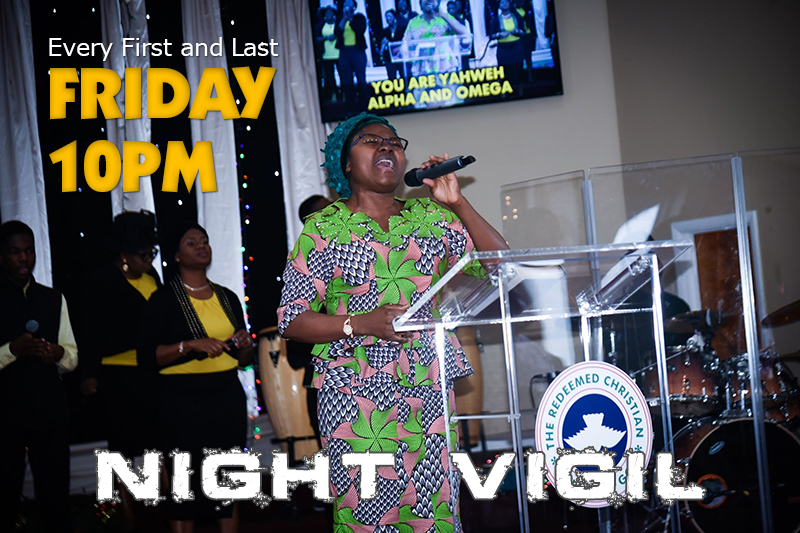 RCCG Night Vigil Service at Jesus House Huntsville Alabama
